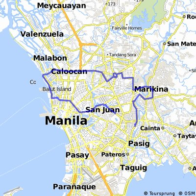National Bicycle Day 2015: Manila, North Route