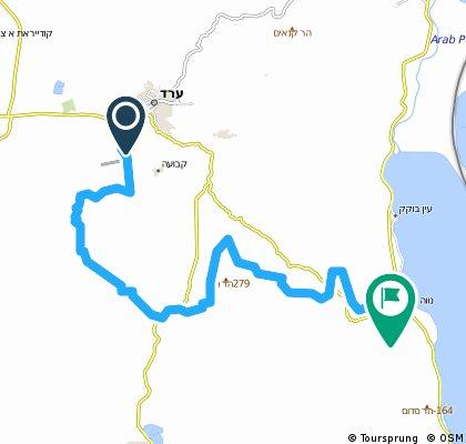 Arad to Dead Sea