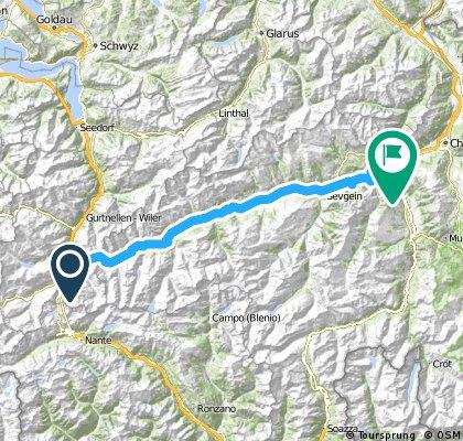 Andermatt-Oberalp-Disenstis-Bonaduz