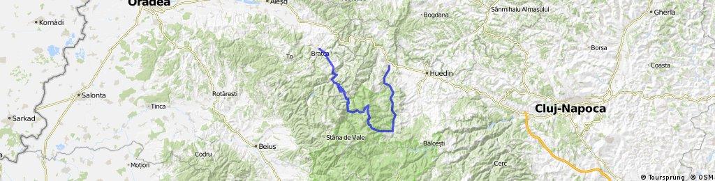 Bologa - Cascada Rachitele - Vf. Vladeasa - Lacul Dragan - Bratca