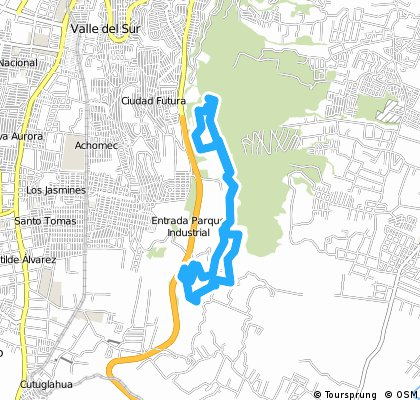 Movistar Trail & Bike 2015 Ruta de ciclismo