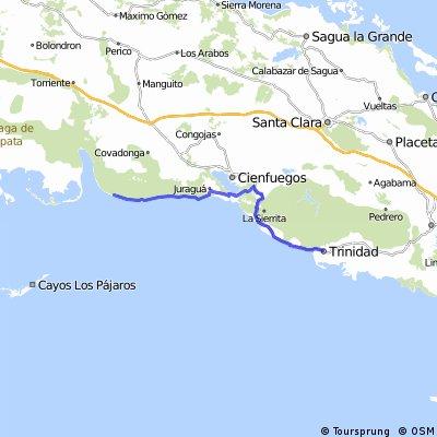 Playa Giron - Castillo Jagua - Trinidad