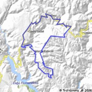 Sardinien X-06 (Monte Santa Vittoria - Runde)