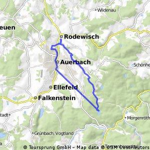 Runde Auerbach - Vogtlandsee
