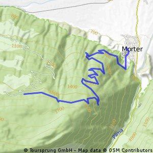 Vinschgau: Göflaner Marmorbruch