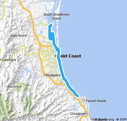 20151124_Gold Coast AP to Paradise Point