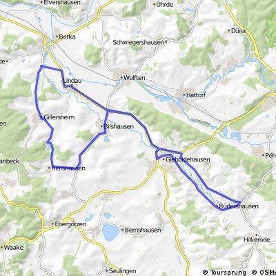 Wachenhausen - Rhumspringe - Wachenhausen