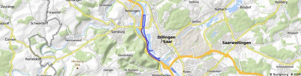 Dillinger Hafen (kurze Strecke)