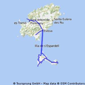San Antonio - Formentera - Aeropuerto