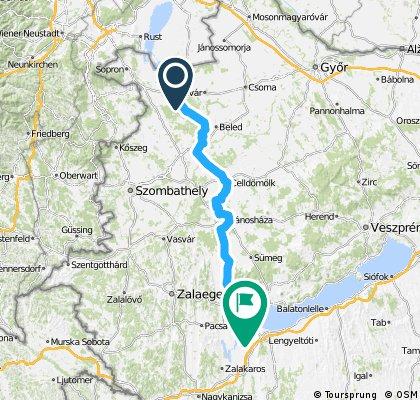 Fahrradtour Neusiedler See – Balaton