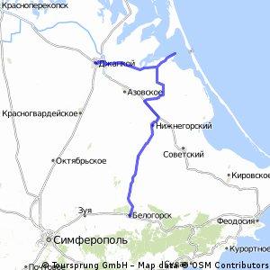 Азов- Белогорск