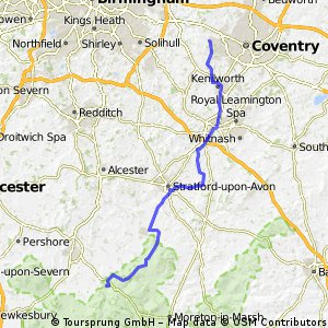 Coventry to Broadway