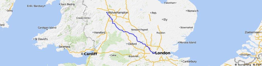 London - Wolverhampton