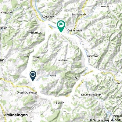 Biglen-Rüegsauschachen-Langnau-Signau-Biglen