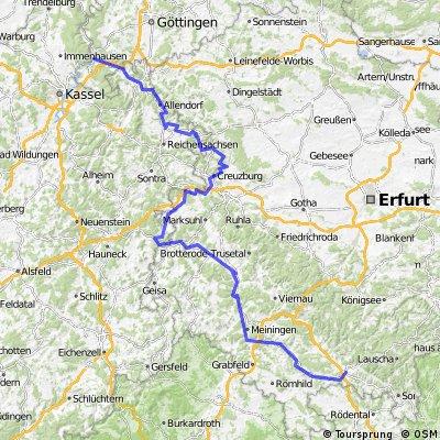 Werratal Eisfeld-Hann. Gemünden