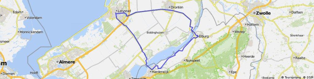 lelystad-elburg-harderwijk-lelystad