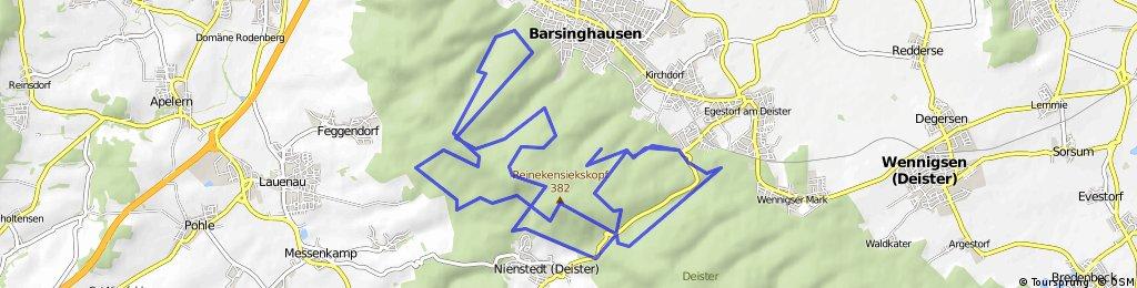Deister 2 Türme Tour ab Egestorf
