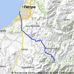 Peloponnes 12-01 (Patras - Ano Vlasia)