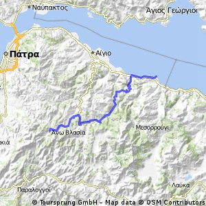 Peloponnes 12-02 (Ano Vlasia - Akrata)