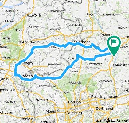 Emsdetten-Enschede-Arnheim-Emmerich