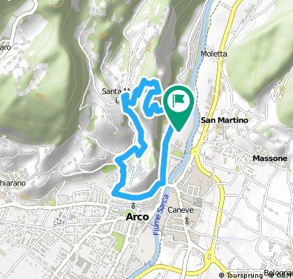 ITALIEN - Gardasee - Klettersteig um den Arco
