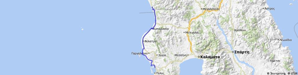 Peloponnes 12-15 (Gialova - Camping Apollo Village)
