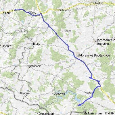 Fietsen van Praag naar Wenen via Český Krumlov etappe 4