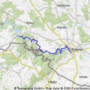 Fietsen van Praag naar Wenen via Český Krumlov etappe 5