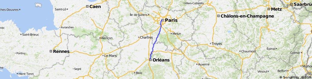 PARIS - ORLEANS