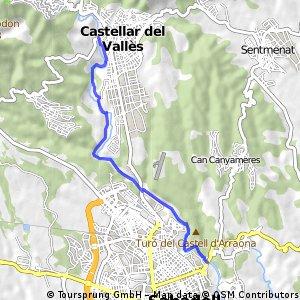 CASTELLAR VALLES - SABADELL PEL RIU RIPOLL