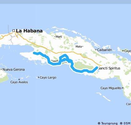 cuba: Sancti Spiritu - Trinidad - Cienfuegos