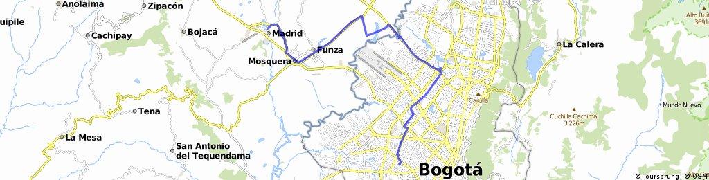 Madrid, bogota