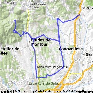 La Garriga - El Farrell - La Garriga (fàcil)