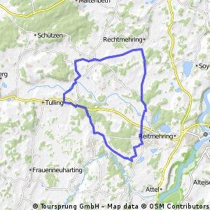 Rundfahrt über Albaching und Edling