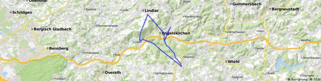 Lindlar - Drabenderhöhe - Lindlar