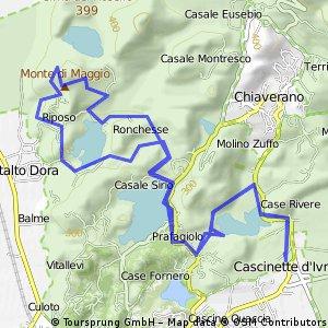 Cascinette Ivrea - Giro dei Laghi