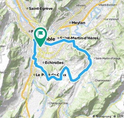 Grenoble Uriage Champagnier