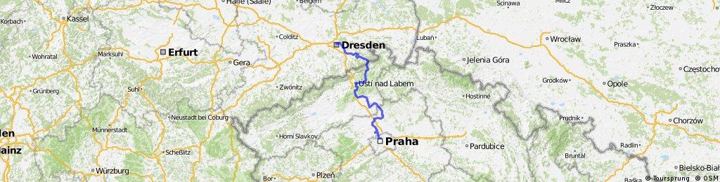 Prag (Praha) -> Dresden