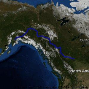 Anchorage-Slave Lake