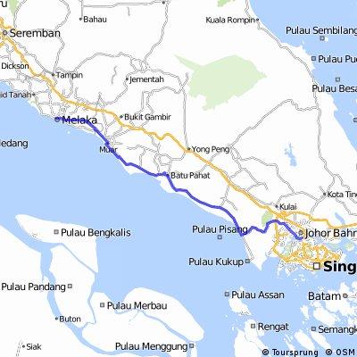 Singapore - Malacca