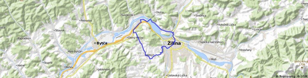 Žilina - Hôrky - Horný Hričov