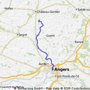 Etape 1 MSM : de Angers à Ménil