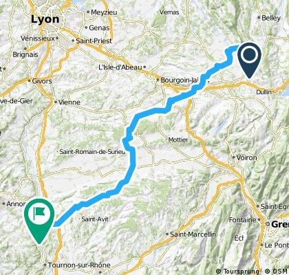 Dag 2 Camping La Comtesse - St Vallier Camping Muncipal Les Iles de Silon