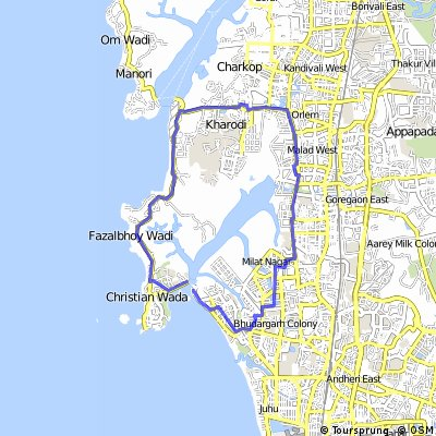 Versova Circle 25km