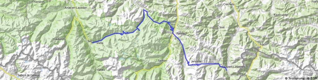Etapa 4 Luz Saint Sauveur Tourmalet Aspen Perisourde Bagneres