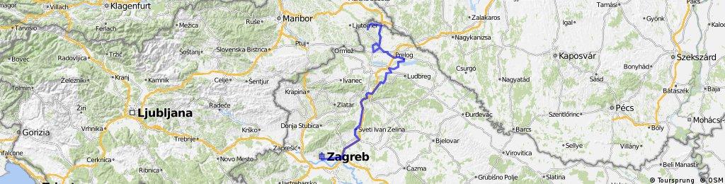 6.ETAPA SV.MARTIN - ZAGREB izmjena NEDELIŠĆE (preko Zeline)