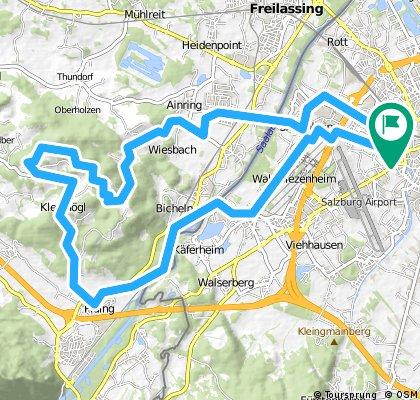 Salzburg_Maxglan - Piding - Högl - Ainring - Sbg_Maxglan