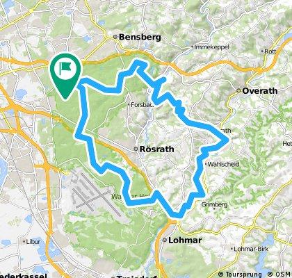 Königsforst - Bergisches - Agger - Wahner Heide