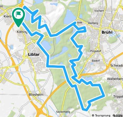 Erftstadt Ville Rundfahrt 39km