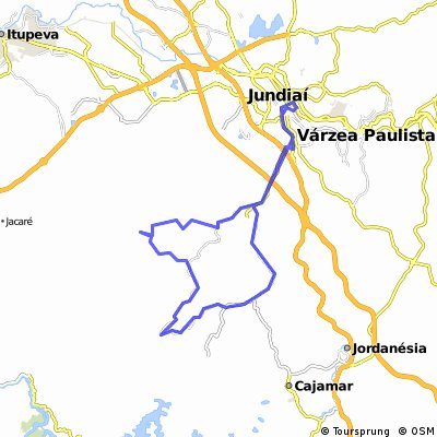 CPTM Jundiai à Serra do Japi